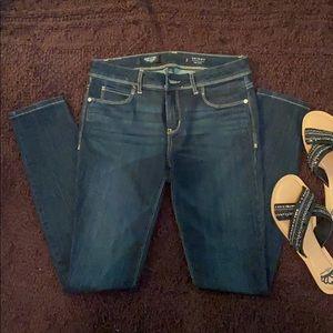 Simply Vera Vera Wang Skinny mid rise denim jeans